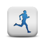 118164-matte-blue-and-white-square-icon-sports-hobbies-people-man-runner